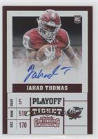 College Ticket - Jahad Thomas /15