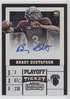 College Ticket - Brady Gustafson #13/15