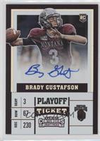 College Ticket - Brady Gustafson /15