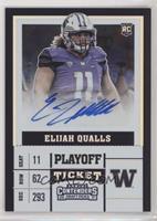 Elijah Qualls #/15