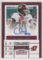 College Ticket - Cooper Rush (Holding Football)