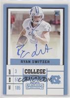 College Ticket Variation - Ryan Switzer (White Jersey)