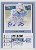 College Ticket - Elijah Hood