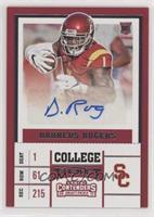 College Ticket - Darreus Rogers (Red Jersey)