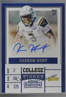 College Ticket - Kareem Hunt