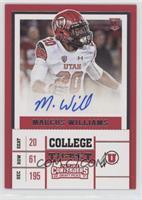 College Ticket - Marcus Williams