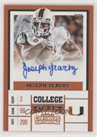 College Ticket - Joseph Yearby [EX to NM]