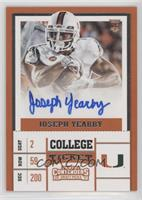 College Ticket - Joseph Yearby