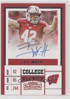 College Ticket - T.J. Watt