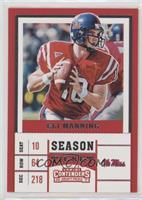 Season Ticket - Eli Manning
