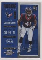 Rookie Ticket - Zach Cunningham #/99