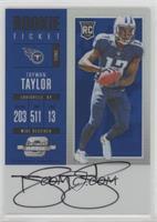 Rookie Ticket RPS Autograph - Taywan Taylor #/25