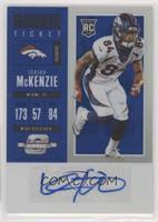 Rookie Ticket Autograph - Isaiah McKenzie #/25