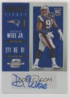 Rookie Ticket Autograph - Deatrich Wise Jr. #/25