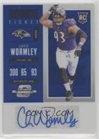 Rookie Ticket Autograph - Chris Wormley #/25
