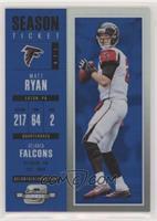 Season Ticket - Matt Ryan /99