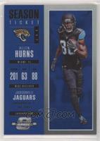 Season Ticket - Allen Hurns [EXtoNM] #/99