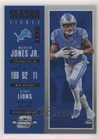 Season Ticket - Marvin Jones Jr. #/99