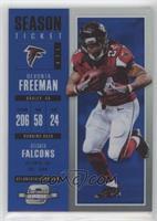 Season Ticket - Devonta Freeman #/99