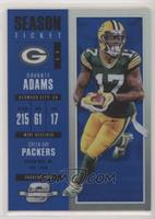 Season Ticket - Davante Adams /99