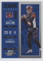 Season Ticket - Andy Dalton #/99