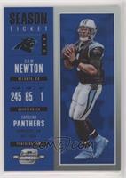 Season Ticket - Cam Newton /99