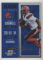 Season Ticket - Isaiah Crowell /99