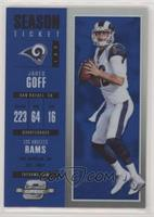 Season Ticket - Jared Goff #/99