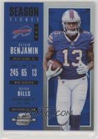 Season Ticket - Kelvin Benjamin /99