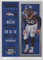 Season Ticket - Von Miller /99