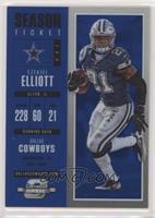 Season Ticket - Ezekiel Elliott #/99