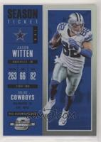 Season Ticket - Jason Witten #/99