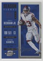 Season Ticket - Odell Beckham Jr. /99