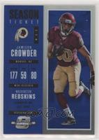 Season Ticket - Jamison Crowder /99 [EXtoNM]