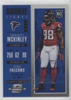 Rookie Ticket - Takkarist McKinley #/99