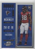 Rookie Ticket - Takkarist McKinley #/99