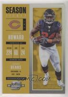 Season Ticket - Jordan Howard #/10