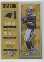Season Ticket - Cam Newton #/10