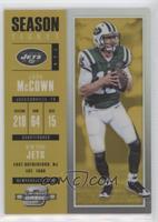 Season Ticket - Josh McCown #10/10