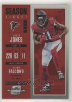 Season Ticket - Julio Jones #/199