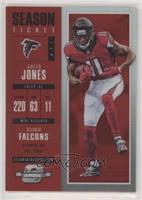 Season Ticket - Julio Jones /199