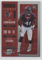 Rookie Ticket - Zach Cunningham #/199
