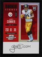 Rookie Ticket RPS Autograph - James Conner #/75