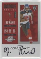 Rookie Ticket RPS Autograph - O.J. Howard #/75