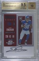 Rookie Ticket RPS Autograph - Evan Engram [BGS 9.5 GEM MINT] #/75