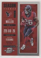 Season Ticket - Lamar Miller #/199