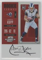 Rookie Ticket RPS Autograph - Cooper Kupp #/75