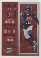 Season Ticket - DeAndre Hopkins #/199