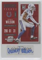 Rookie Ticket Autograph - Quincy Wilson #/75