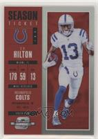 Season Ticket - T.Y. Hilton #/199
